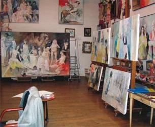 Художественная мастерская Жансема