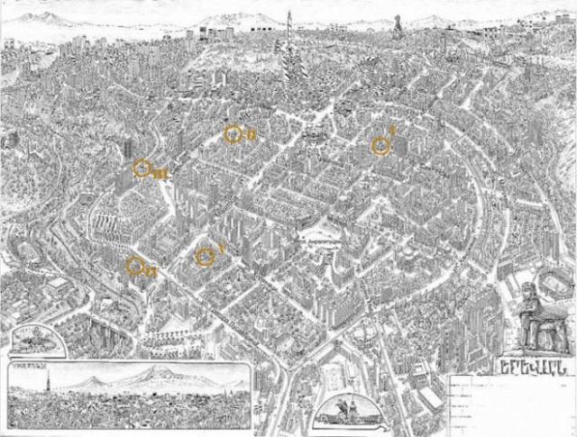 Панорамная карта центральной